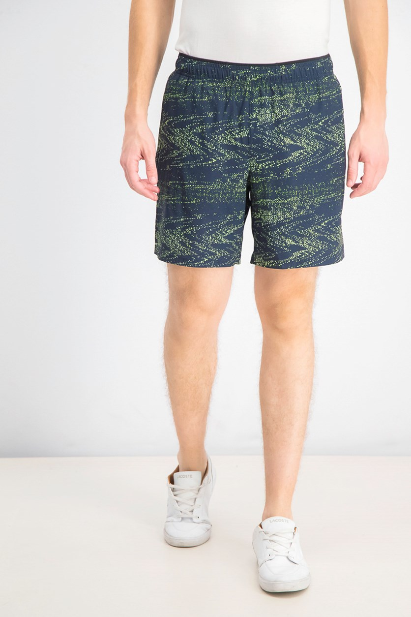 Men's 2 in 1 Graphic Print Short, Navy Combo