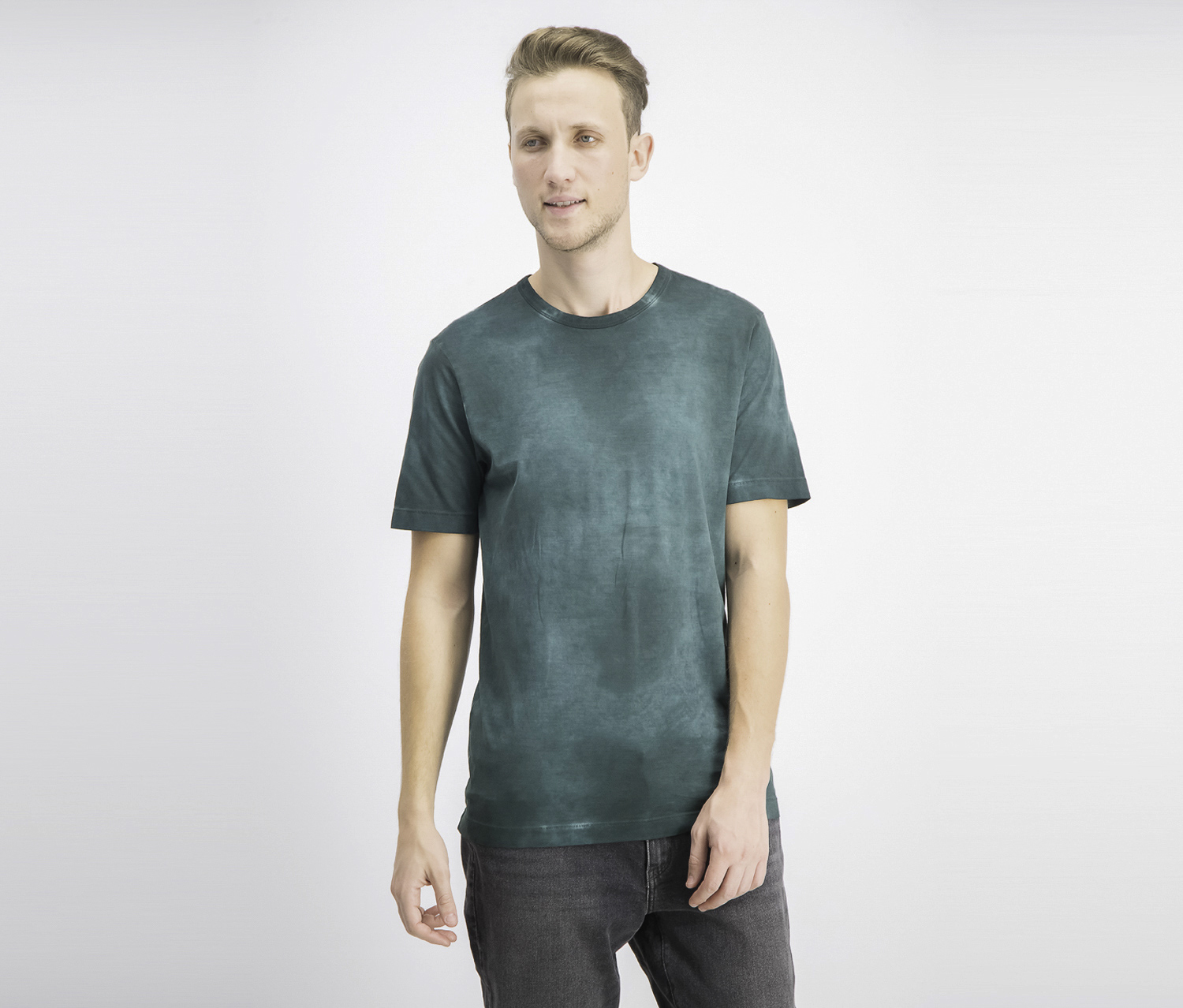 Men's Prism Tie-Dye Short-Sleeve T-Shirt, Virdis Combo