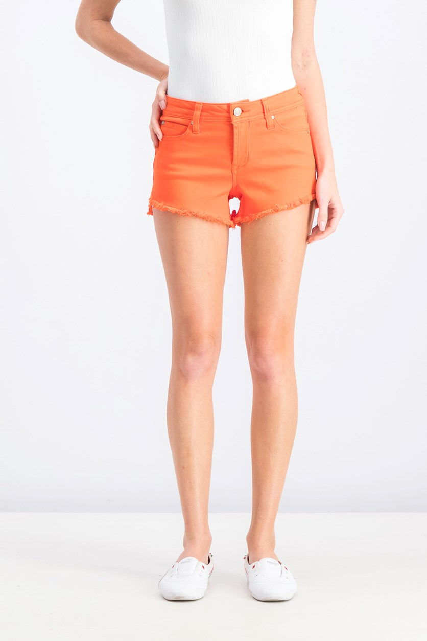 Women's Five Pocket Short, Orange