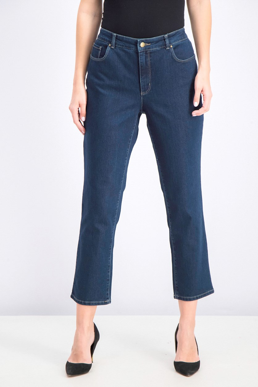 Lexington Straight-Leg Jeans, Greenwich Wash