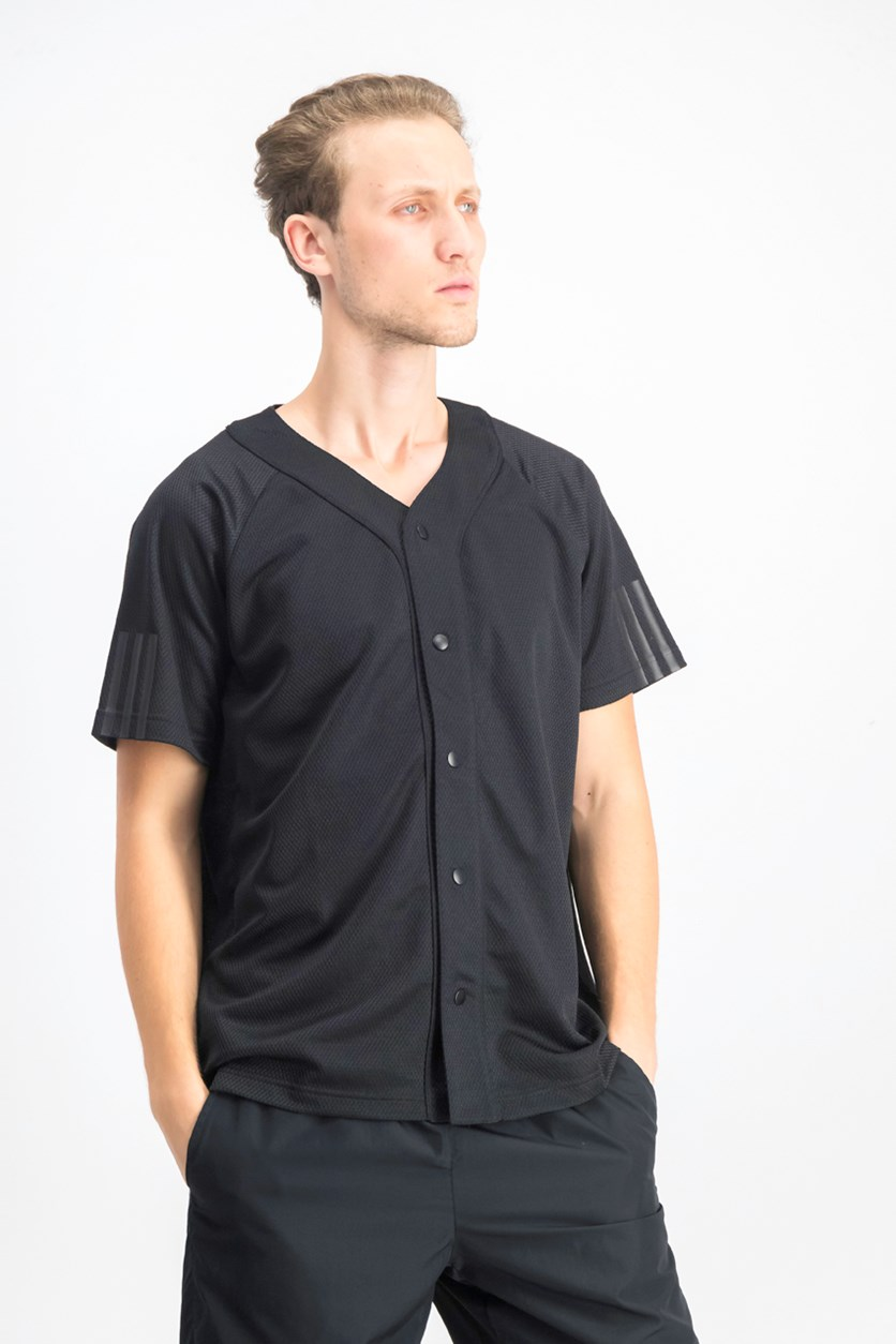 Men's Baseball Jersey, Black