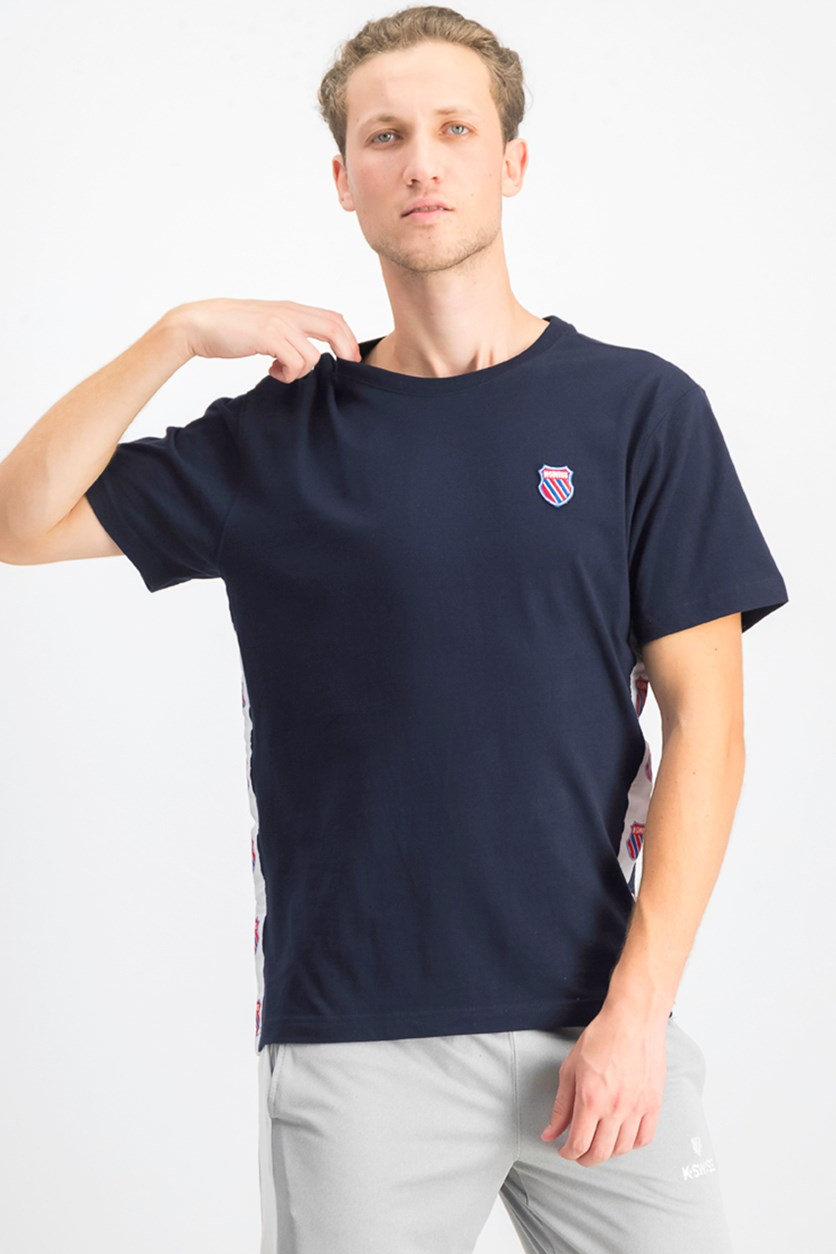 Men's Crew Neck Tee, Navy