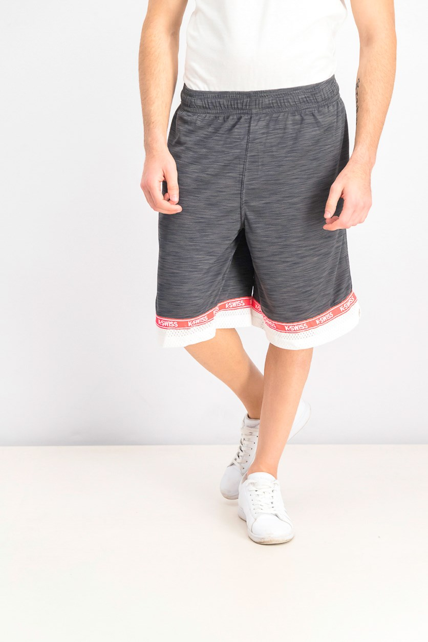 Men's Wild Card Sports Shorts, Charcoal Heather