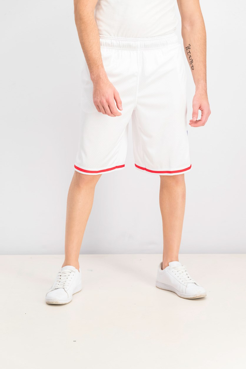Men's Spin Sports Shorts, White