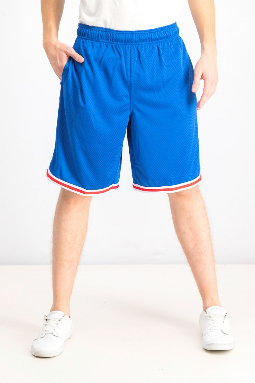 Men's Spin Sports Shorts, Classic Blue