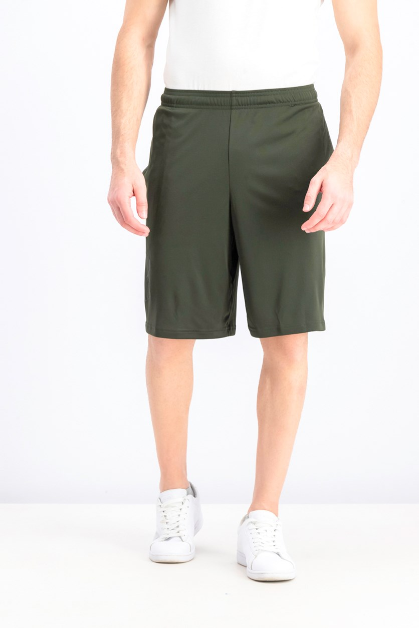 Men's Under Armour Tech Graphic Shorts, Olive Green