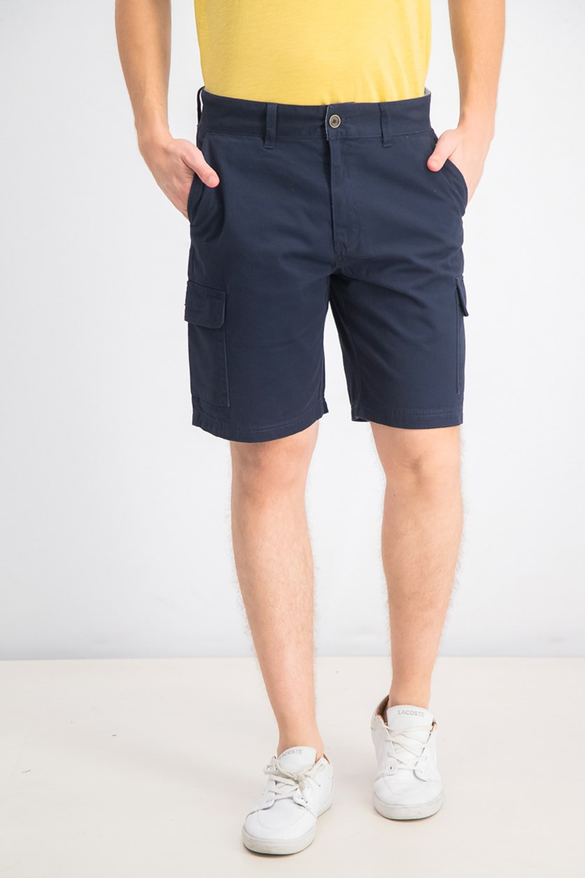 Men's Six Pocket Cargo Short, Navy Blue