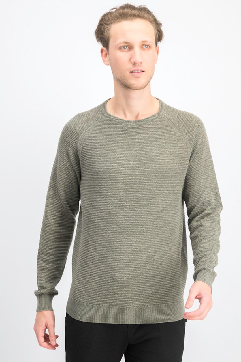 Men's Stonewashed Sweatshirt, Olive