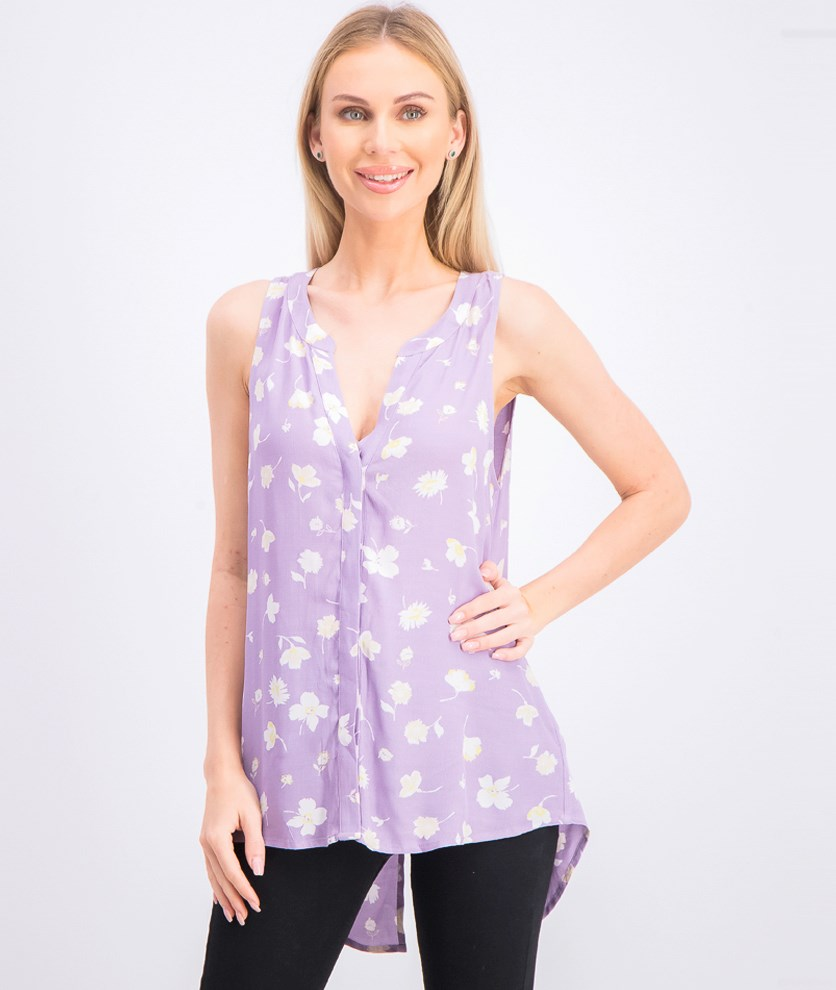 Womens Craft Sleeveless Top, Charming Life