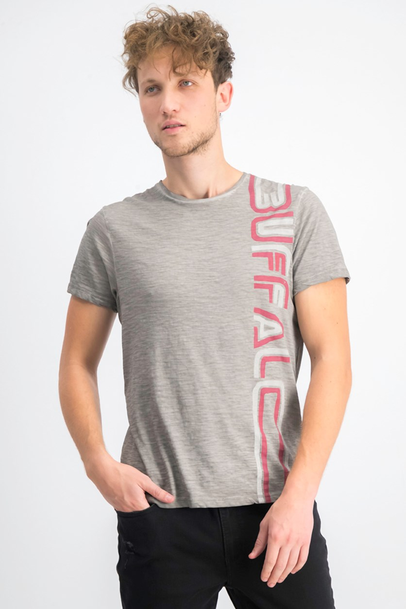 Men's Tybarz Logo Graphic T-Shirt, Gris Ardent