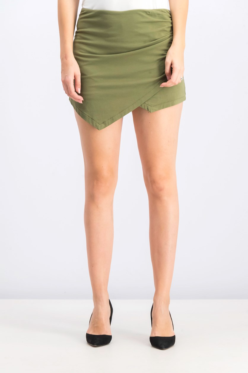 Women's Koko Asymmetrical Skort, Green
