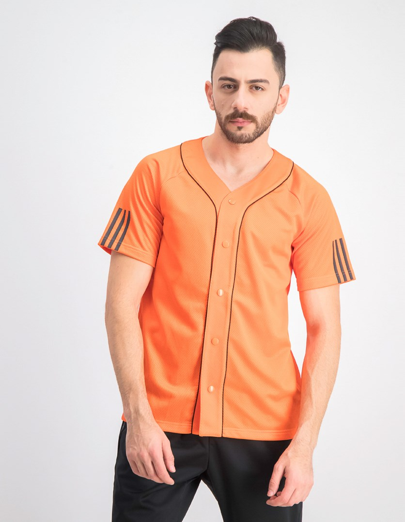 Men's  Baseball Jersey, Orange