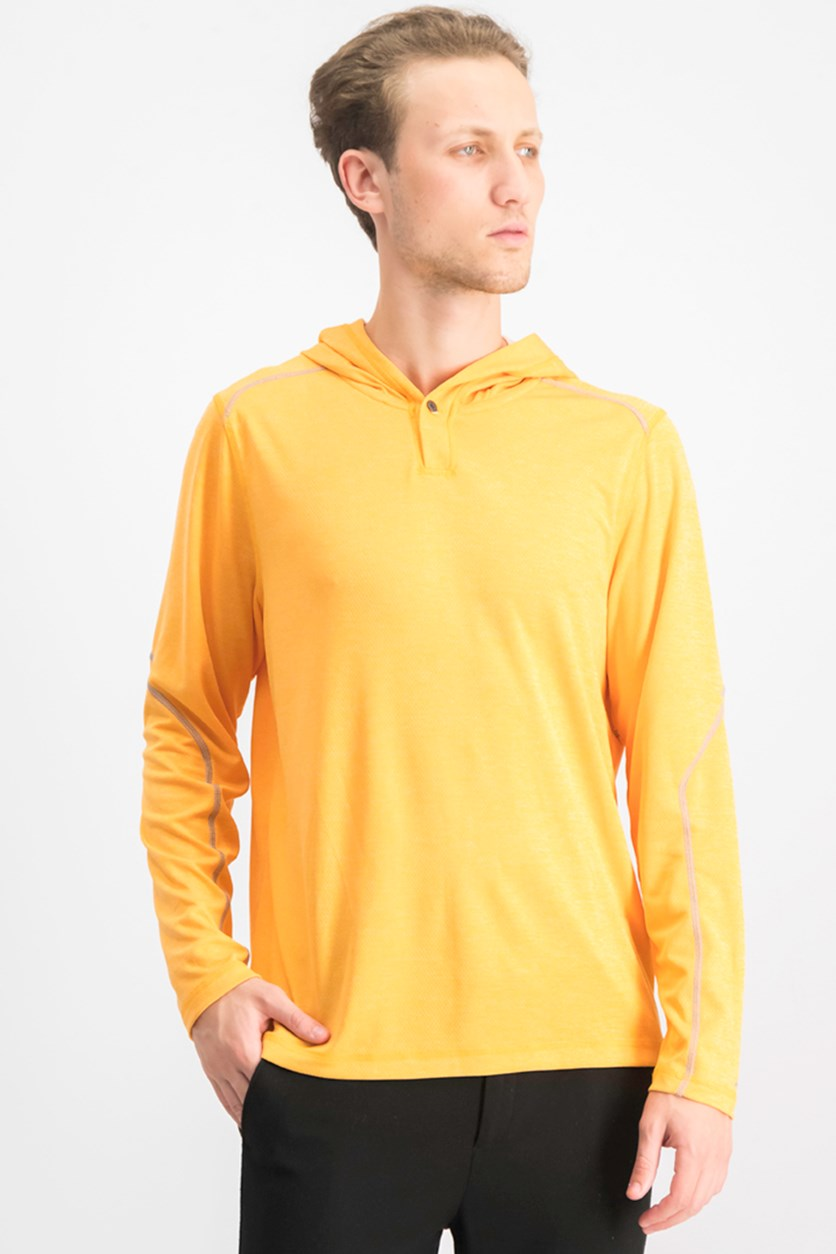 Men's Honeycomb Sweatshirt, Apricot