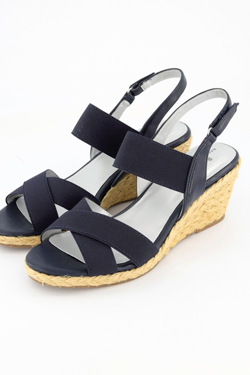 Women's Hearsay Espadrille Sandal, Dark Blue
