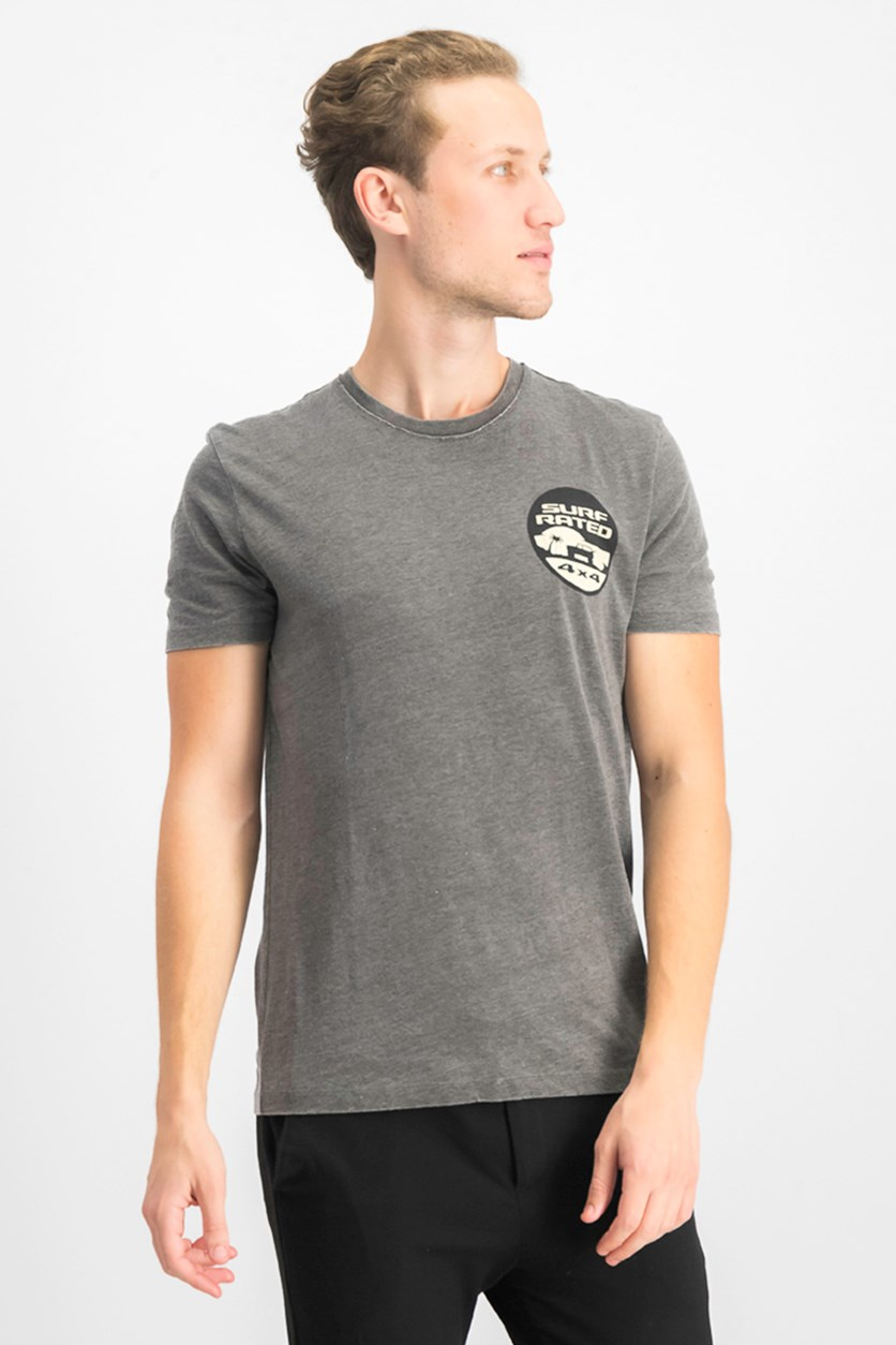 Men's Jeep Sufrated Shirt, Washed Black