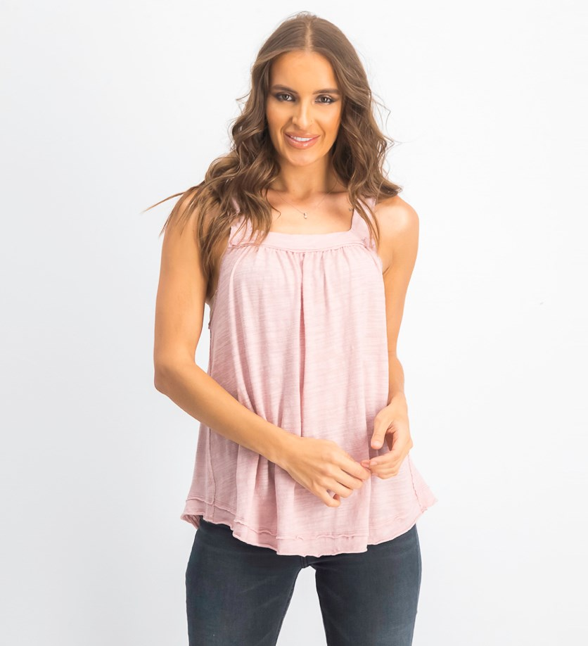 Women's Good For You Tank,  Pink