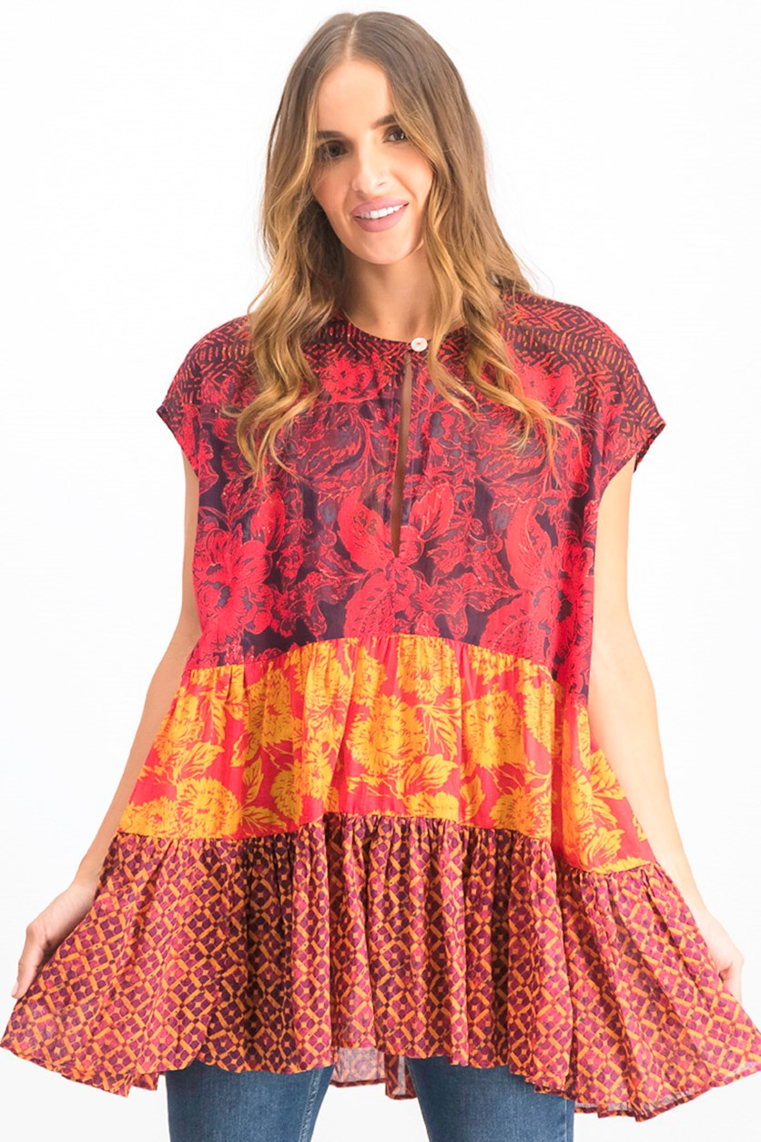 Women's Gotta Have You Tunic Blouse, Red