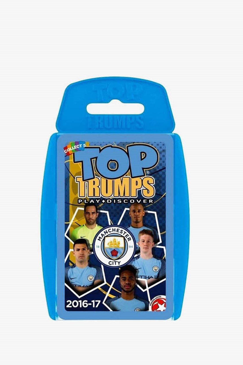 Manchester City 2016-17 Card Game, Blue
