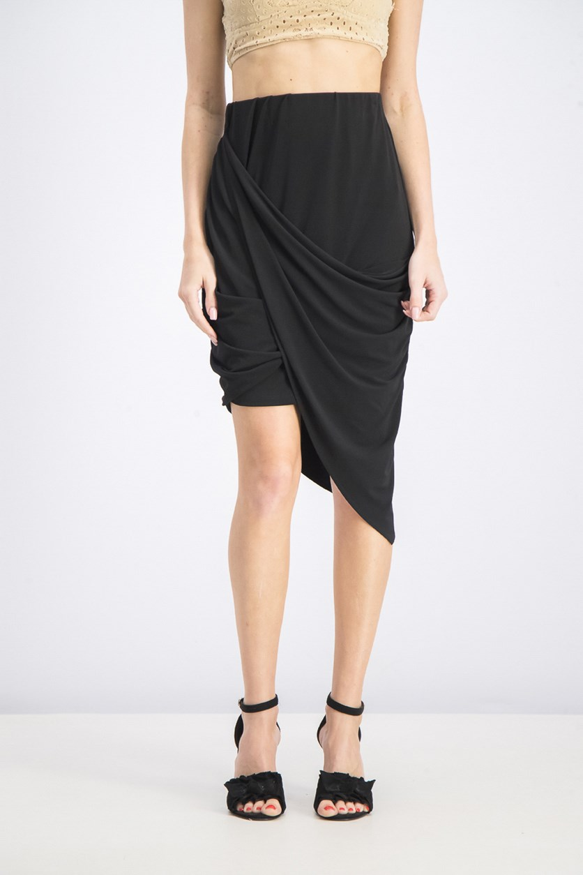 Women's Pull-On Skirts, Black