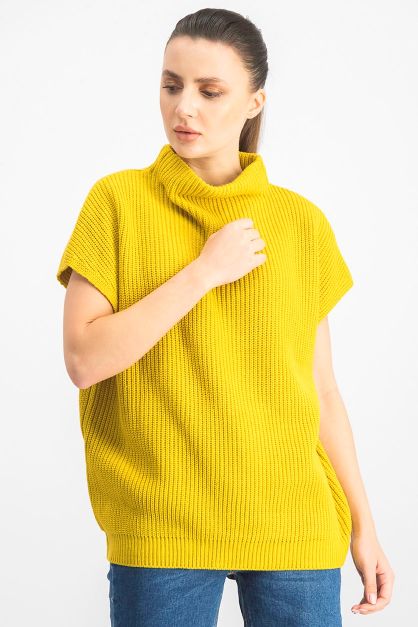 Women's Textured Sweatshirt, Cater Pillar