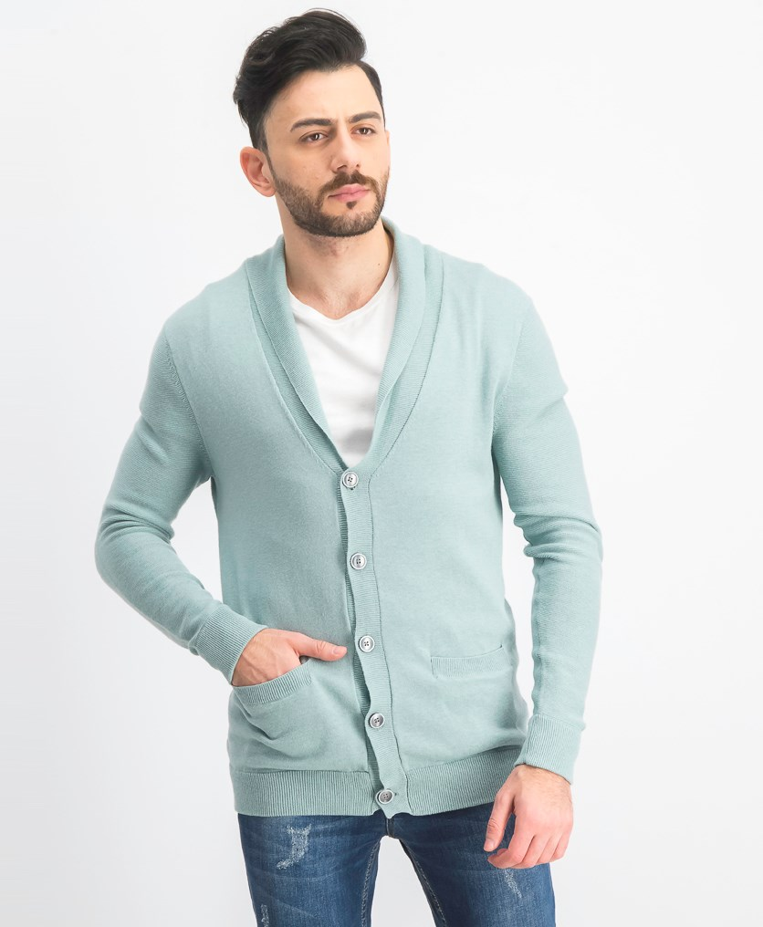 Men's Pallo Cardigan Sweater, Ether
