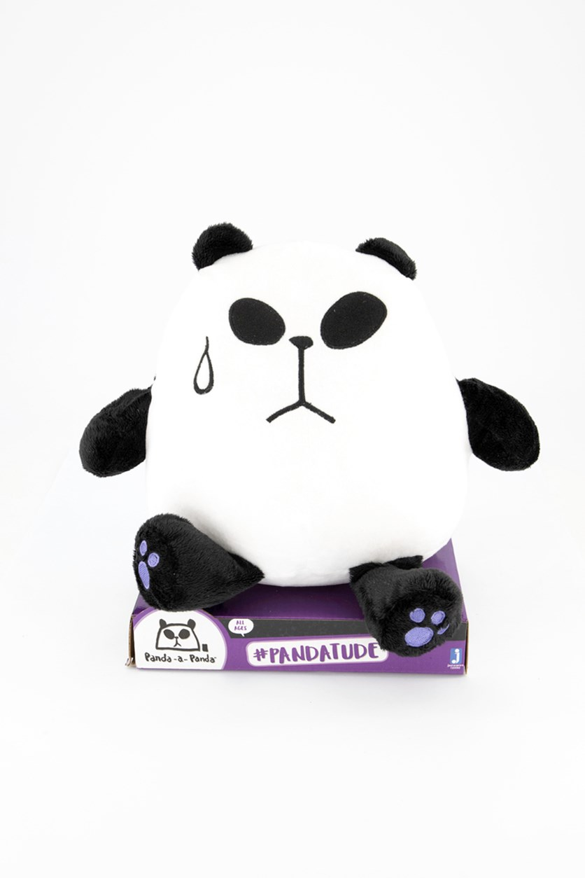 Panda-A-Panda Plush Toys, Black/White