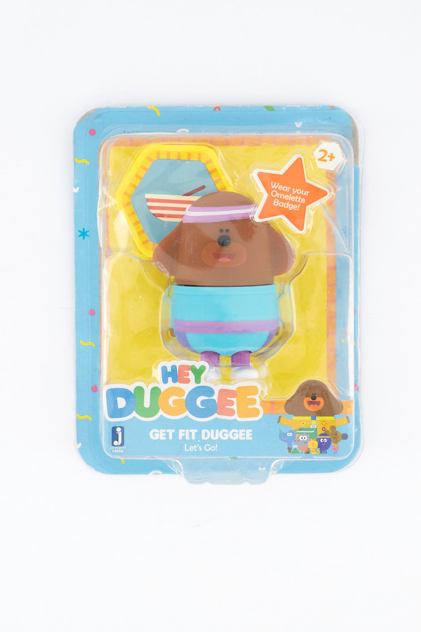 Hey Duggee Betty Omelette Figure With Badge, Brown/Blue