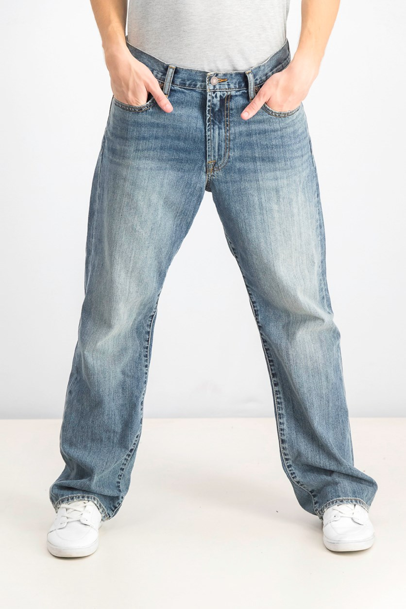 Men's 181 Relaxed Straight Fit Jeans, Light Cardiff