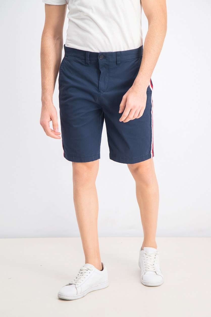 Men's Signature Stripe Shorts, Navy
