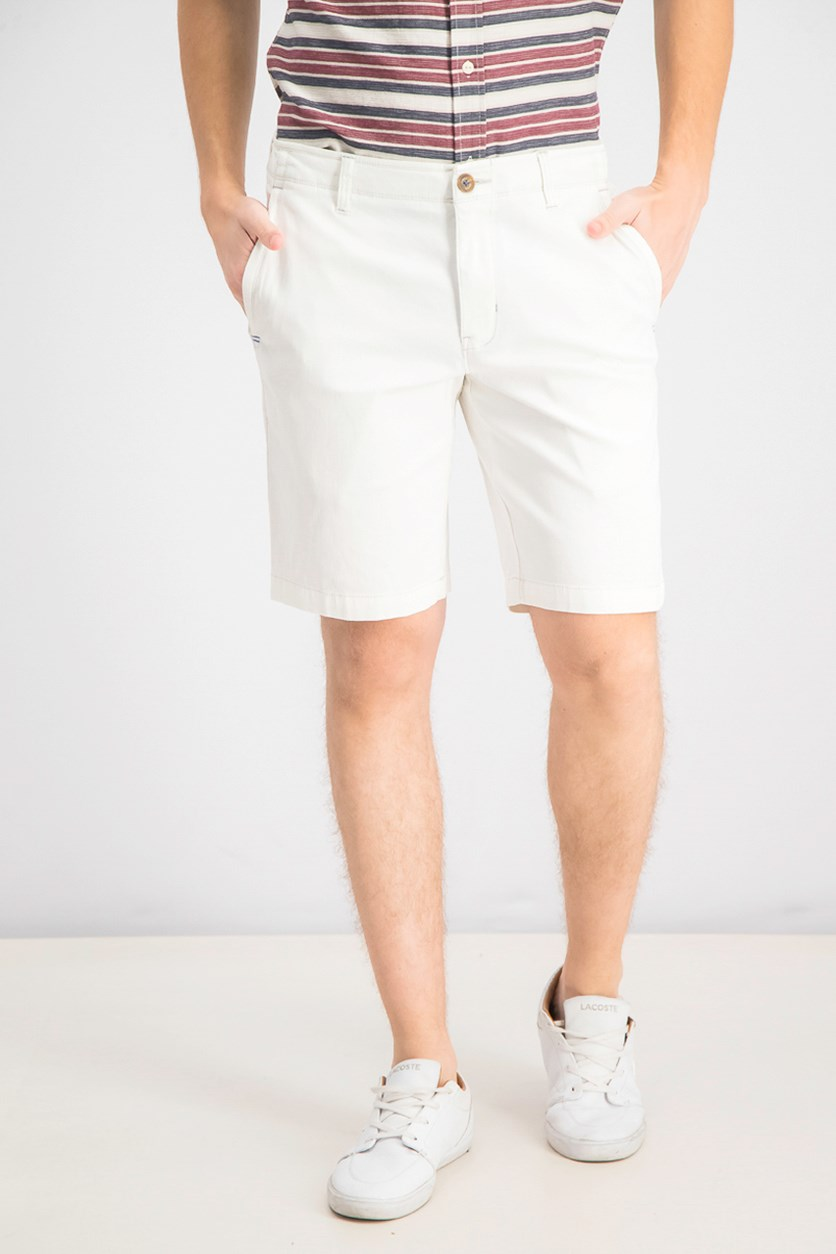 Men's Bedford Bay Vintage Fit Shorts, White