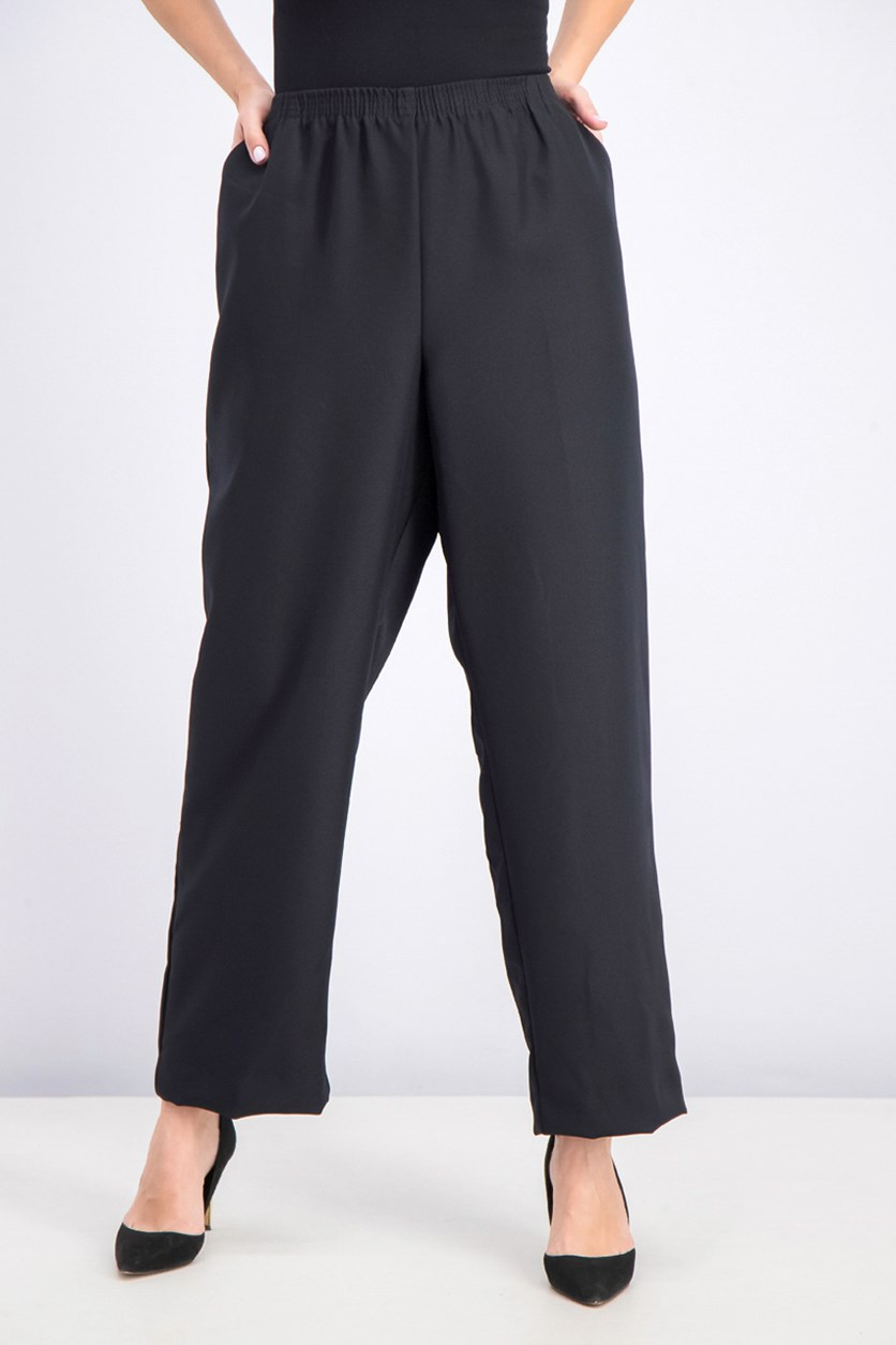 Women's Pull-on Pants,  Black