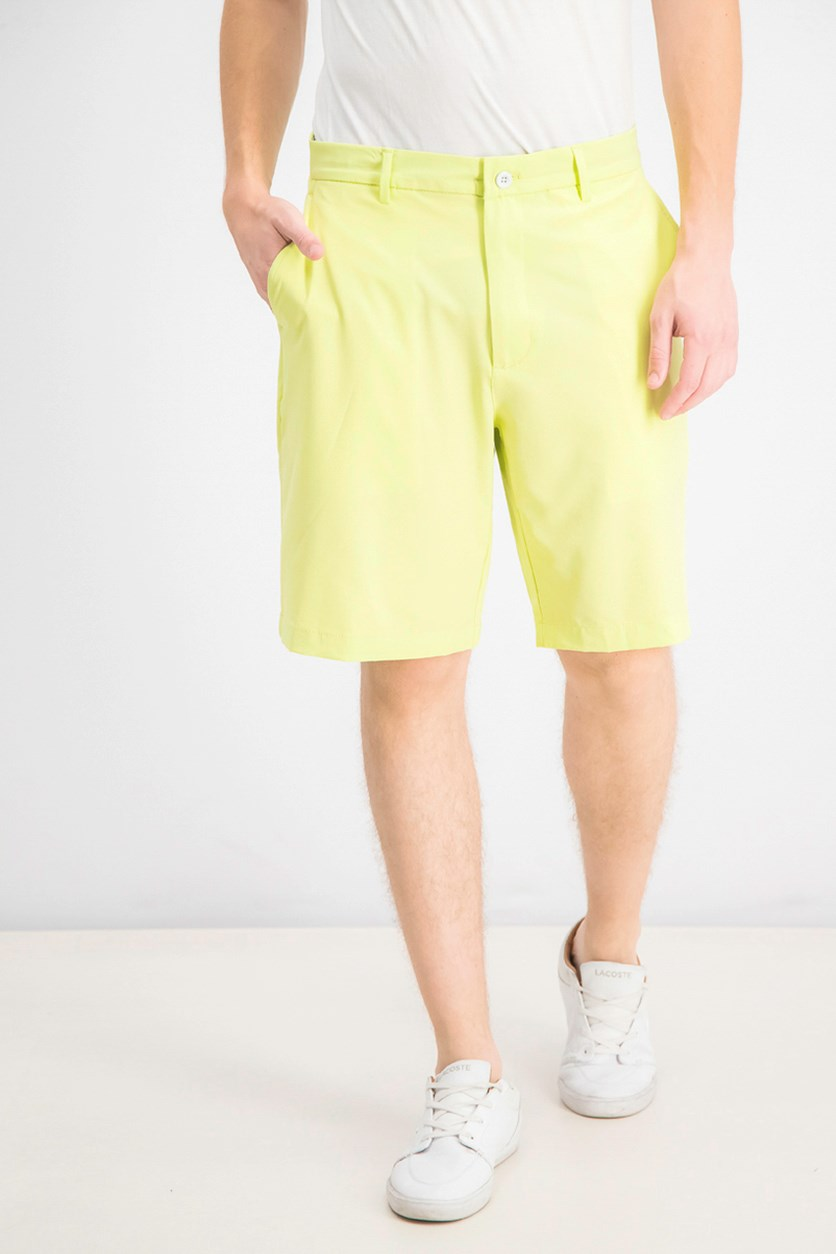 Mens Fuego Stretch Shorts, Lime Dew