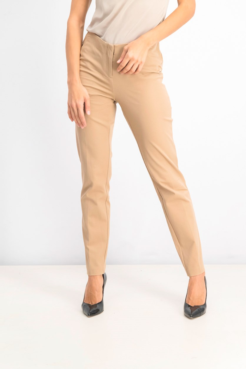 Bi-Stretch Hollywood Skinny Pants, Warm Ginger