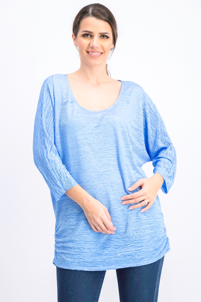 Women's Textured Dolman-Sleeve Top, Marina