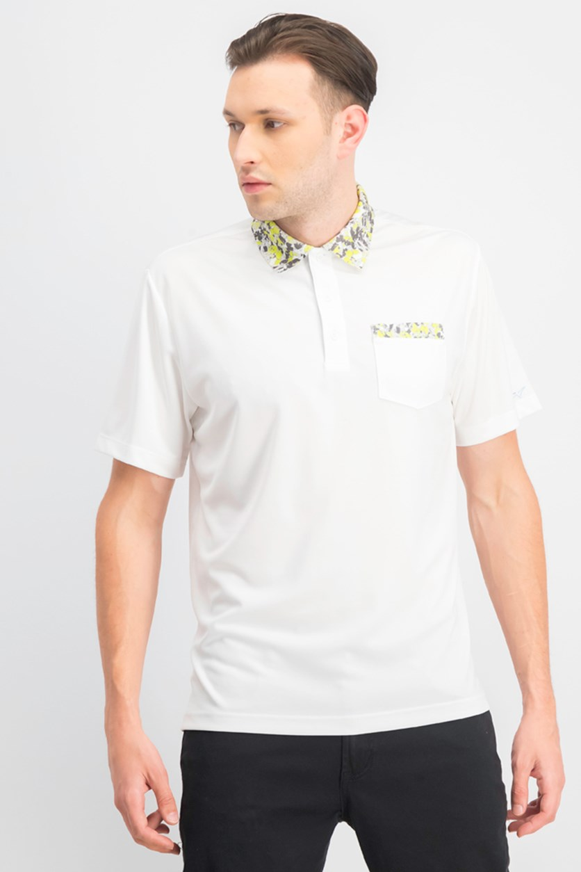 Men's Pulford Collar Polo, Bright White