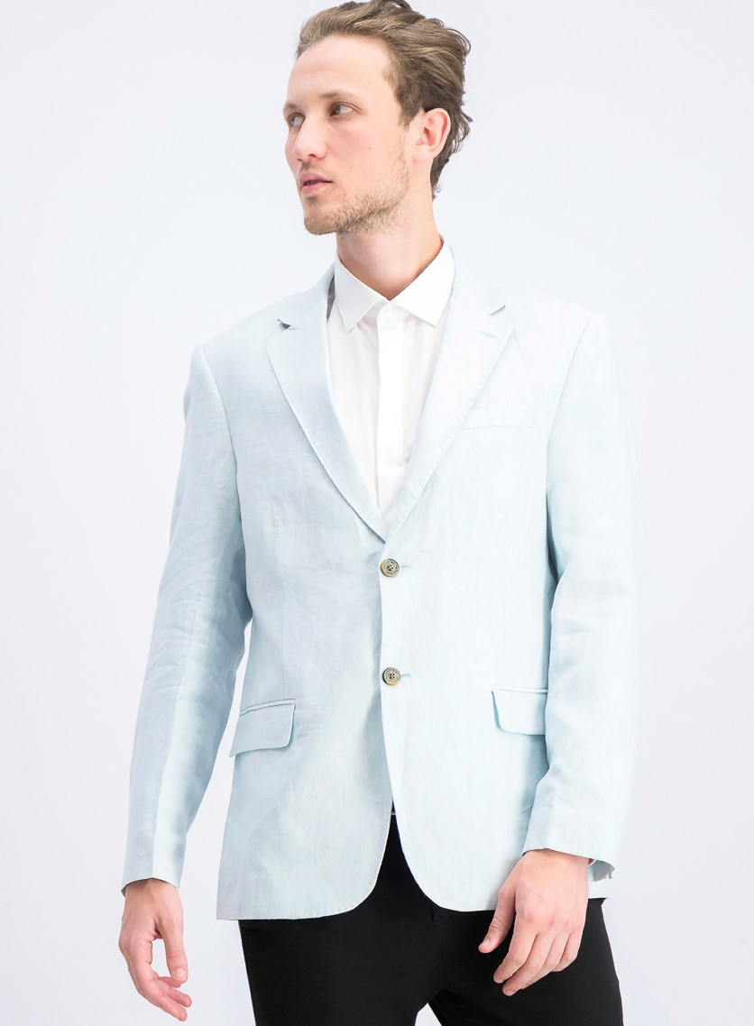 Men's 2-Button Blazer, Mint