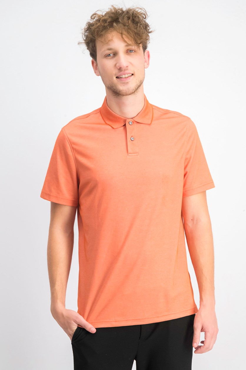 Men's Supima Blend Cotton Polo, Flame