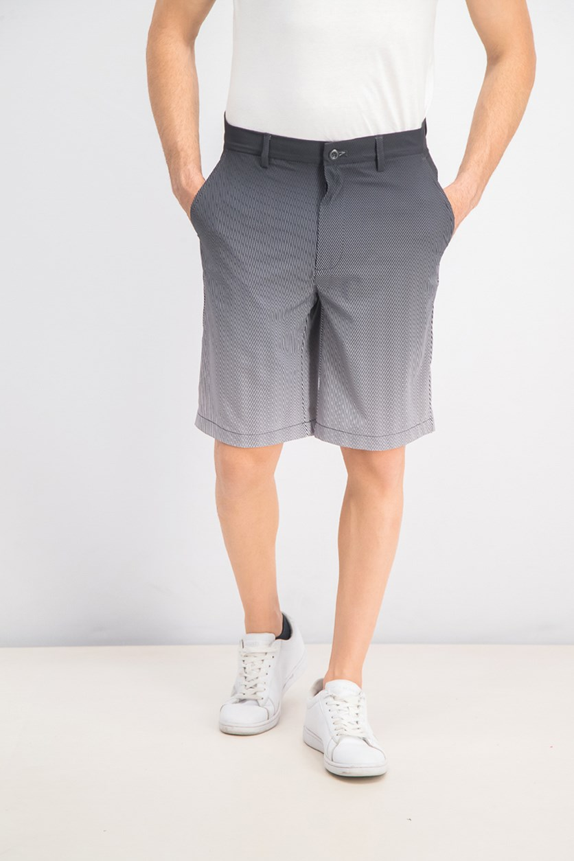 Men's Halftone Fade Shorts, Dark Lead