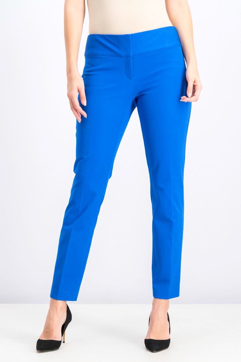 Women's Pull On Slim Pants, Stormy Sea