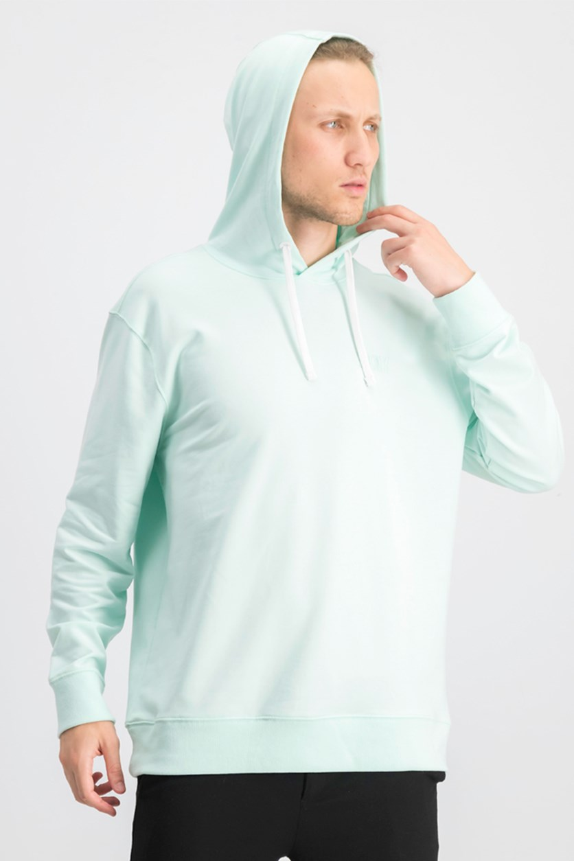 Men's Logo Graphic Hoodie, Soothing Sea