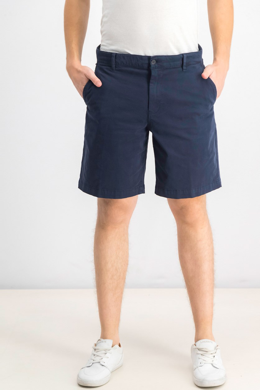 Men's Stretch Chino 9 Shorts, Navy Blazer