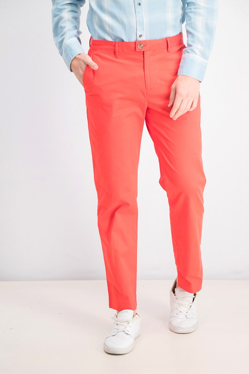 Men's Refined Stretch Classic Fit Chinos, Red