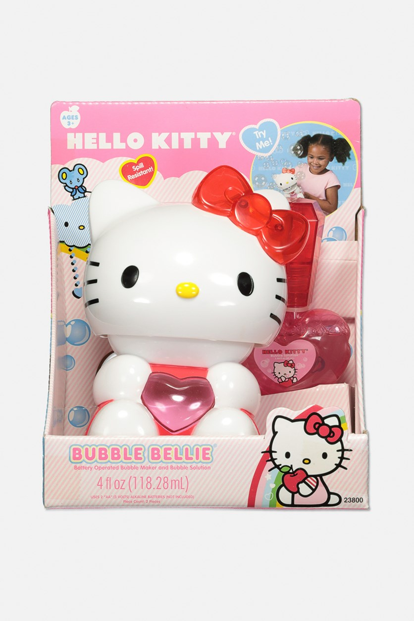 Hello Kitty Bubble Bellie, Pink/White