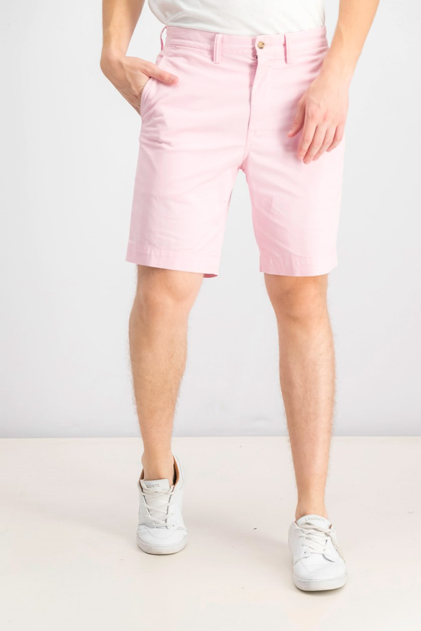 Men's Stretch Classic-Fit 9'' Shorts, Pink