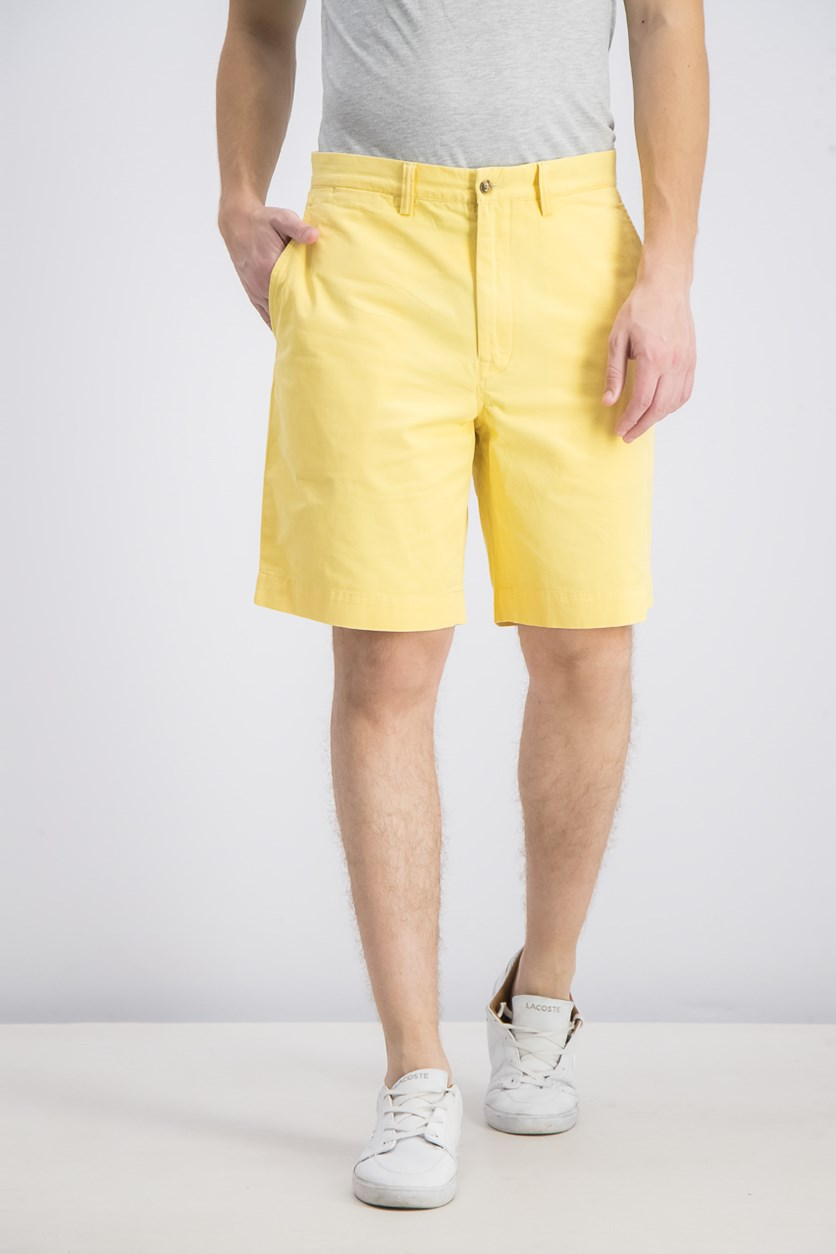 Men's Stretch Classic Shorts, Yellow