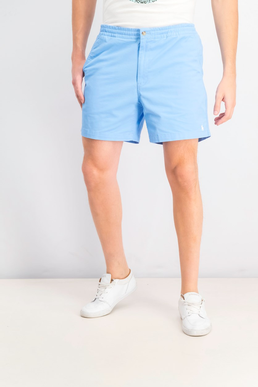 Men's Classic-Fit Embroidered Sailboat Shorts, Blue