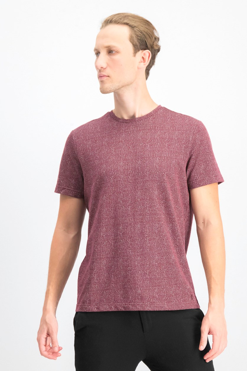 Men's Short Sleeve T-shirt, Chile Garnet