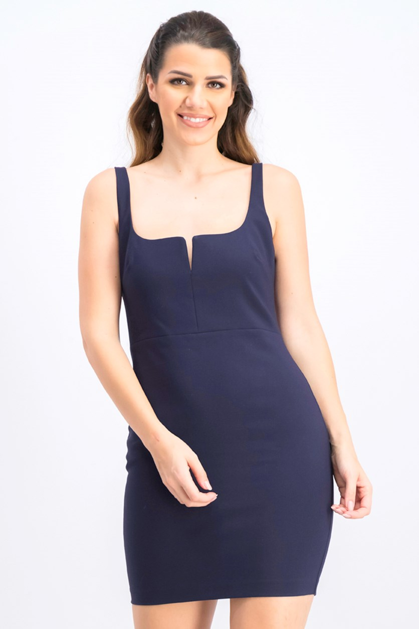 Women's Constance Body-Con Dress, Navy