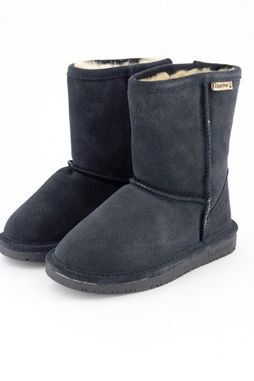 Kids Girls Emma Youth Boots, Navy