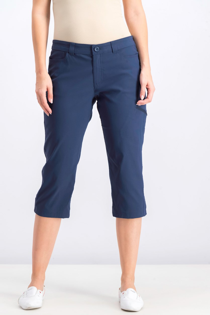 Women's Rainier Capri Pants, Med Indigo